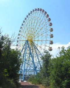 Riesenrad im Mtazminda Vergnügungspark
