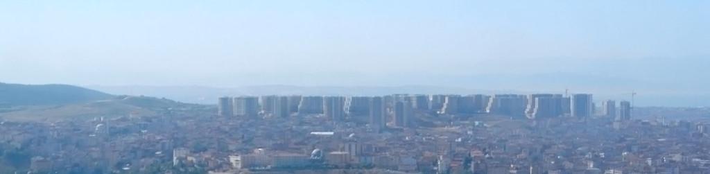 Istanbul Skyline Luftaufnahme