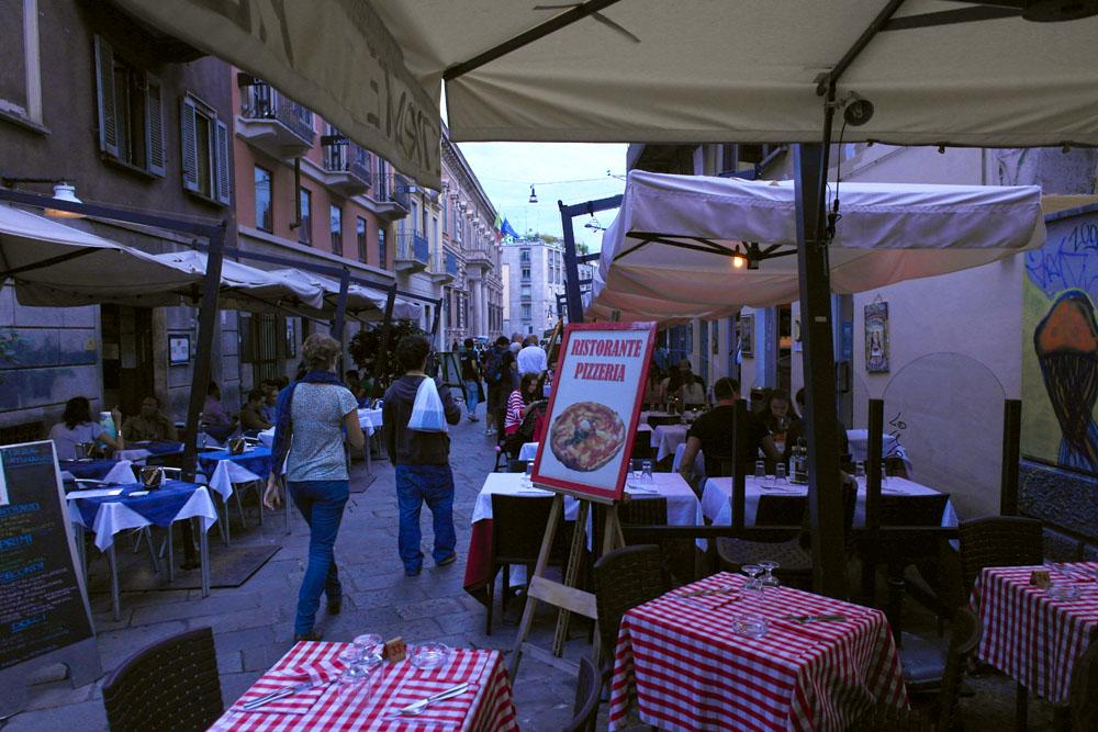 Nachtleben in Mailand