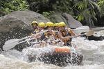 Bali: Wildwasserrafting Ayung River mit Mittagessen Tour