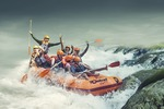 All Inclusive Wildwasser-Rafting auf dem Ayung River Tour
