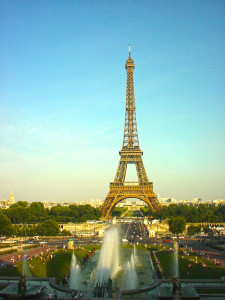 Eiffeltumr Paris Ansicht