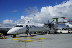 AirBaltic Flugzeug