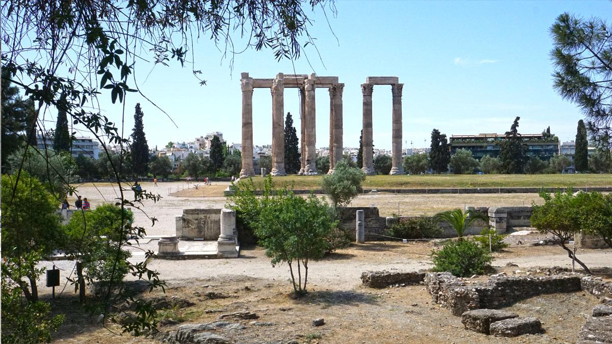 Hadrian Bibliothek in Athen