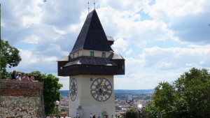 Uhrtrum Graz