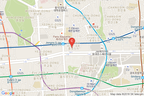 Dongdaemun-map