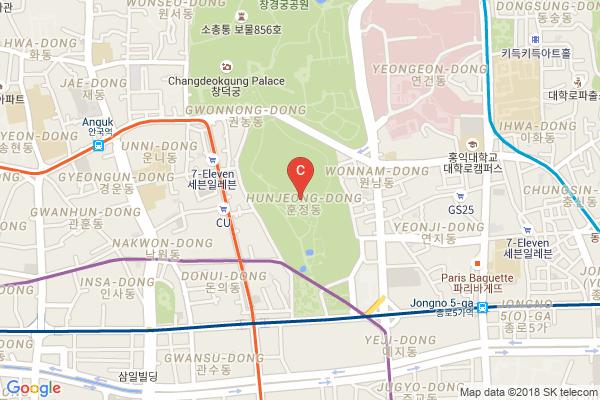 jongmyo-map