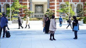 Menschen in Tokyo