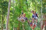 Krabi: Ao Nang Fiore Zip Line Abenteuer Tour