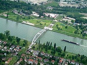 Garten der zwei Ufer