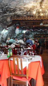 Restaurante Grutas von Innen