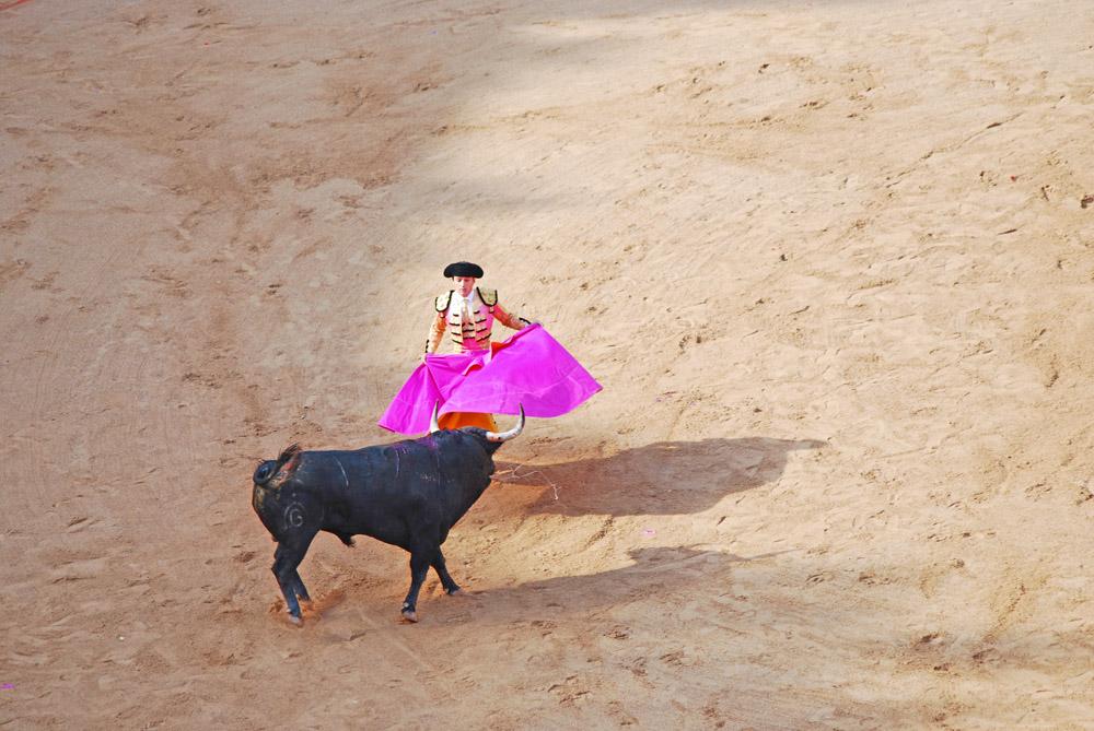 Stierkampf in Sevilla