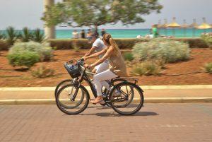 Fahrradfahren in Sevilla