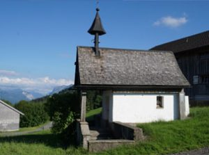 Kappelle oberhalb von Bozen