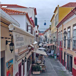 Restaurantstrasse Funchal