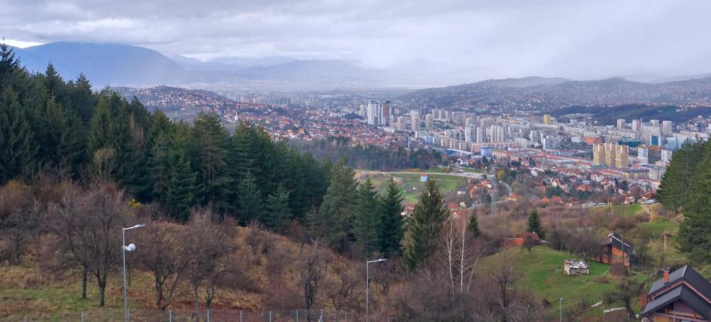Skyline von Sarajevo