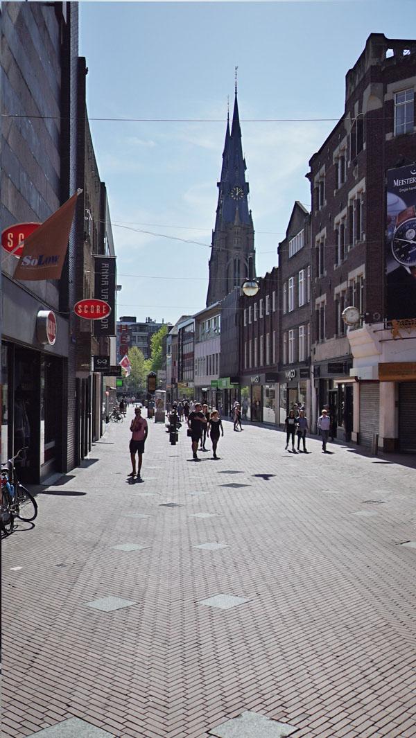 Fussgängerzone Eindhoven