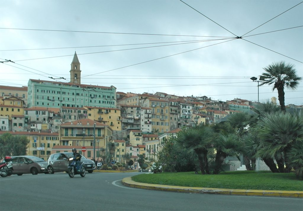 Strasse in Nizza