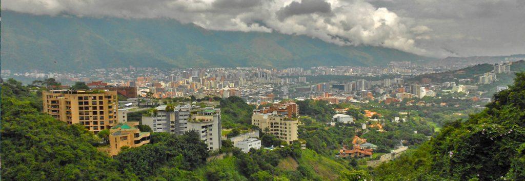Venezuela Panorama von Caracas