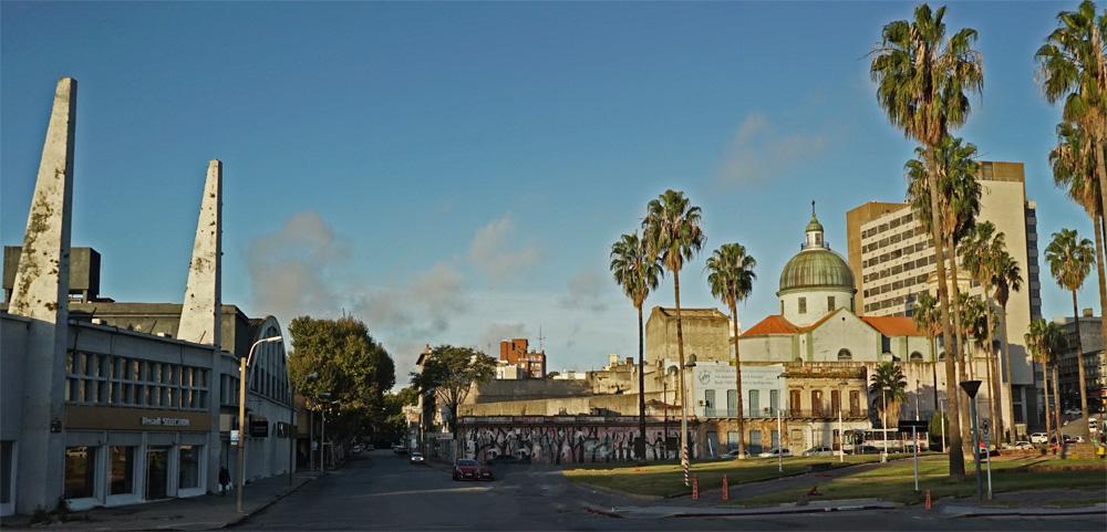 Panorama von Montevideo in Urugay