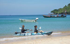 Kajaktour in Kambodscha