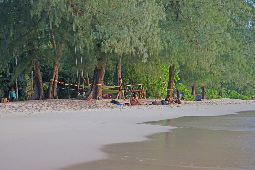 Der Strand von Koh Lanta