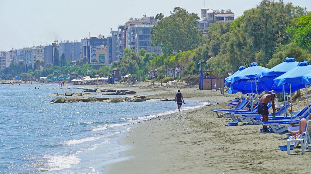 Strand von Paphos, Zypern